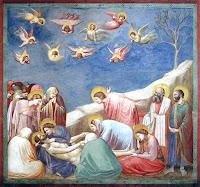 """Arte Cristã: Giotto: """"A lamentação de Cristo"""""""