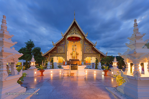 Temple Of Wat Phra Singh