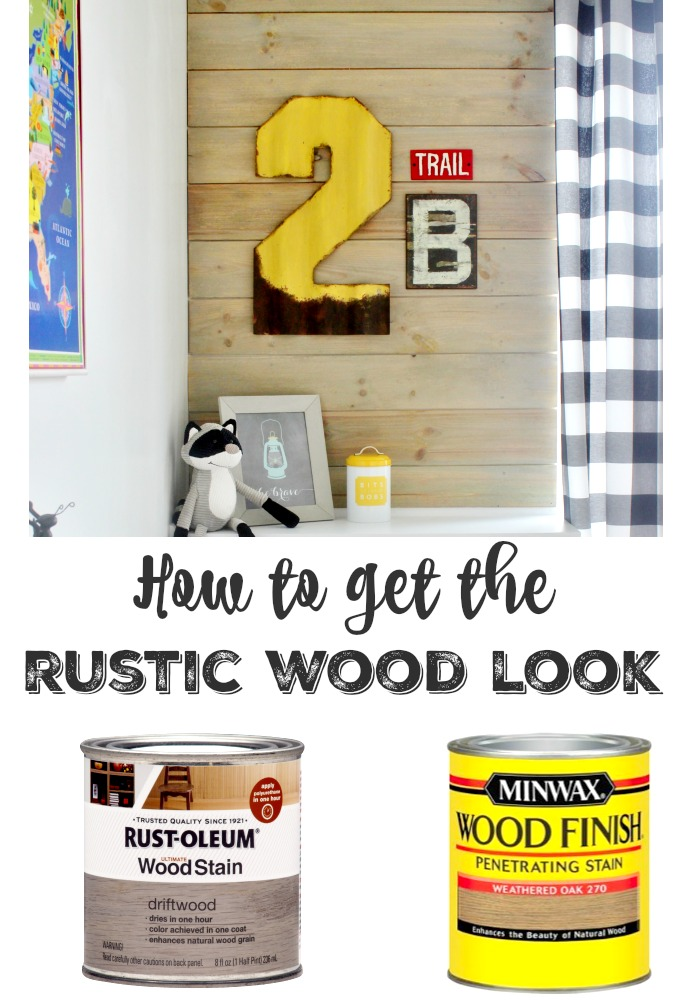 rustic wood stain recipe