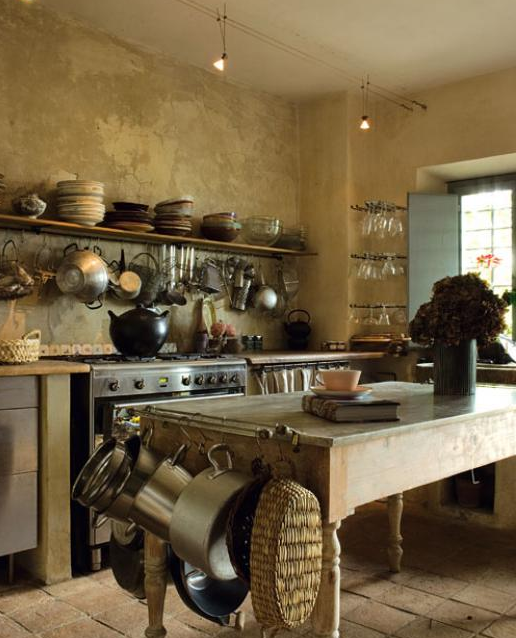 Blog de mbar muebles c mo decorar una cocina de campo - Cocinas de casas de campo ...