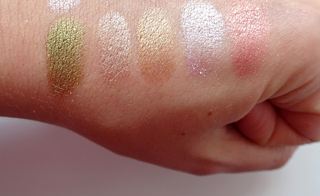 swatche pigmentów