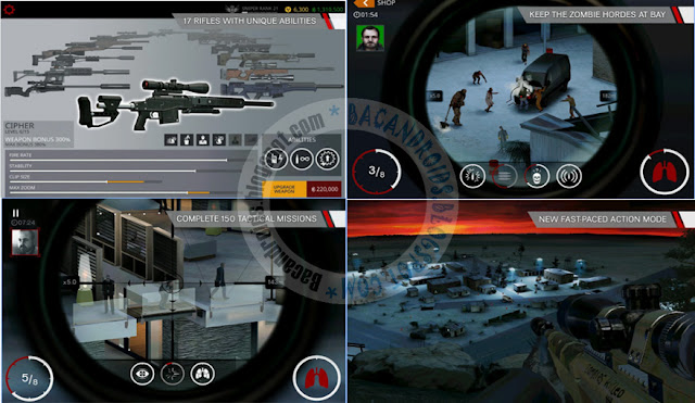 Game Hitman Sniper v1.7.73988 Mod Apk Dta Full Obb Unlimited Money