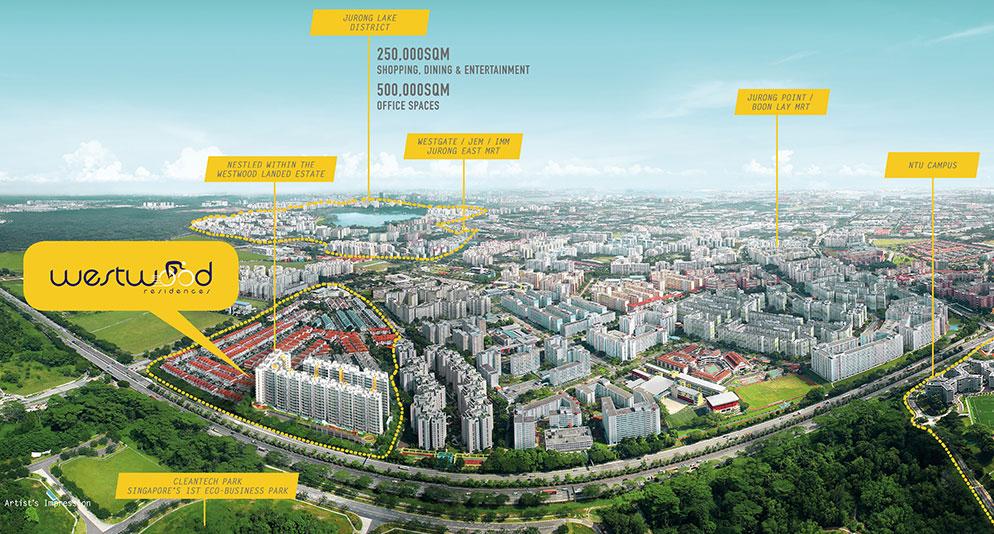 Westwood Residences Masterplan