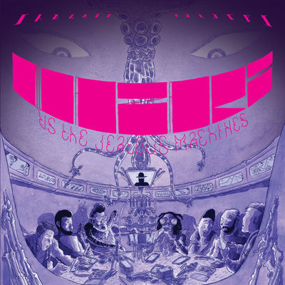Shabazz Palaces - Quazarz Vs. The Jealous Machines - Album Download, Itunes Cover, Official Cover, Album CD Cover Art, Tracklist
