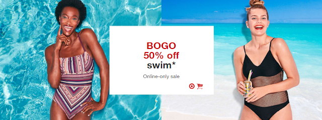 3fa350a543 Extreme Couponing Mommy: BOGO 50% Womens Swim ONLINE ONLY at Target