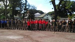Satpol PP Kabupaten Wajo, Besok  Masih Diprediksi Mendapat Juara  Pada Lomba Devile  Tahun 2019