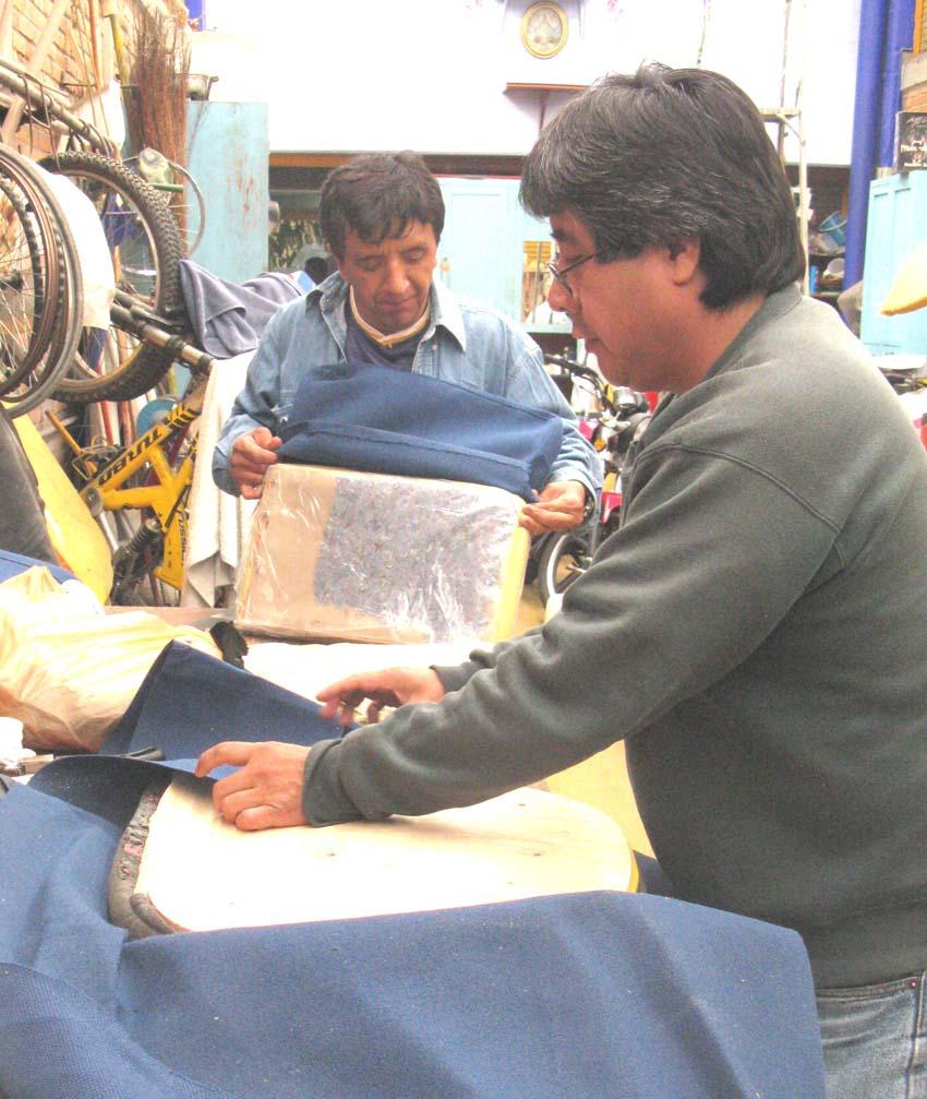Union taller de tapicer a - Talleres de tapiceria ...