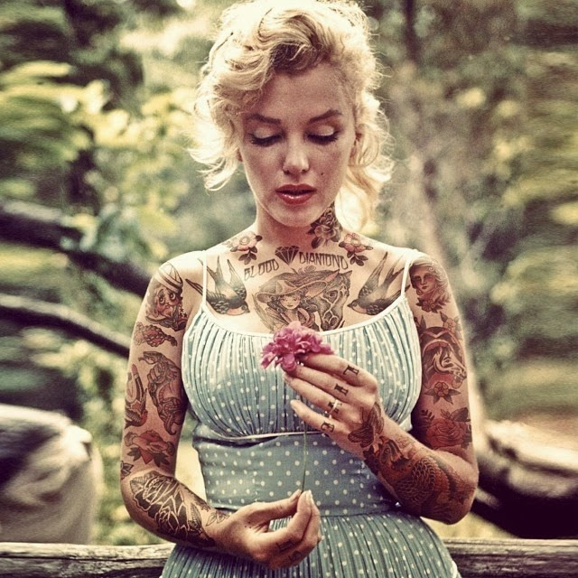 19-Marilyn-Monroe-Cheyenne-Randall-Shopped-Tattoos-Tattooed-Celebrities-www-designstack-co