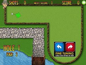 Minigolf Accessible free PC sports game
