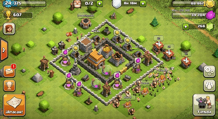 membangun desa coc