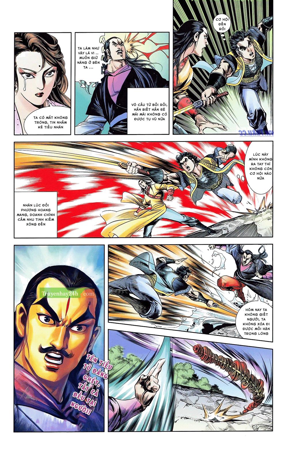 Tần Vương Doanh Chính chapter 21 trang 7