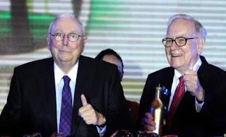 Warren Buffett und Charlie Munger bei Berkshire