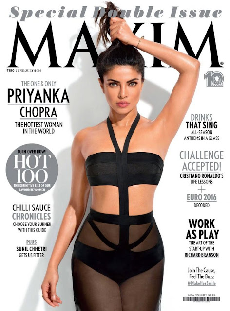 Priyanka Chopra – Maxim Magazine June-July 2016)