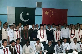 Primera visita de la Armada China al Índico