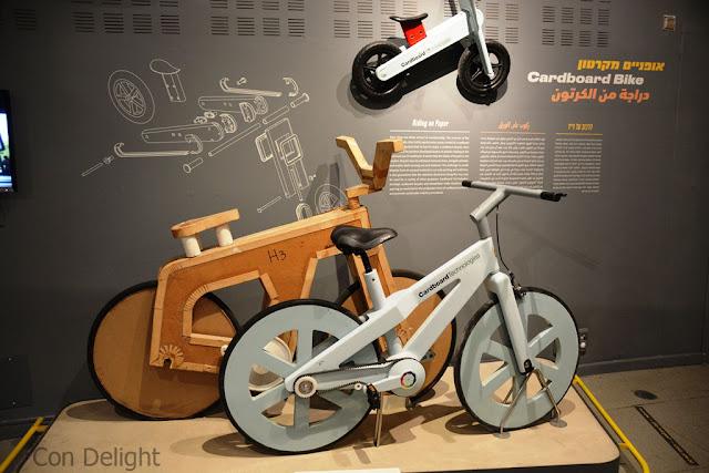 אופניים מקרטון cardboard bike