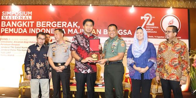 Panglima TNI Himbau Warga Agar Tidak Terpecah Belah Oleh Kelompok Tertentu