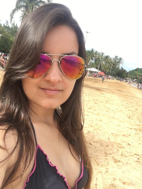 selfie na praia
