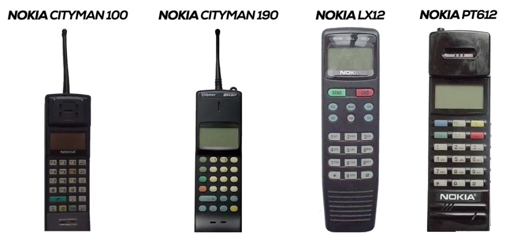 Nokia in the year 1990