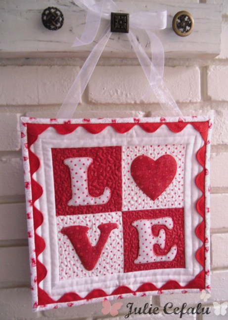Quilt Inspiration Free Pattern Day L O V E Quilts