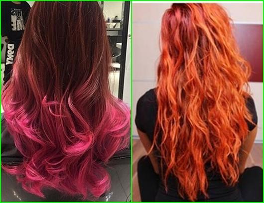 Frisuren für helles rot