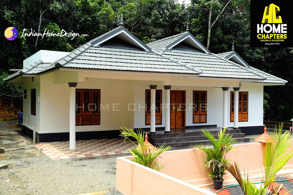 1650 sqft 3 bhk kerala style traditional home design by for Traditional house plans in india