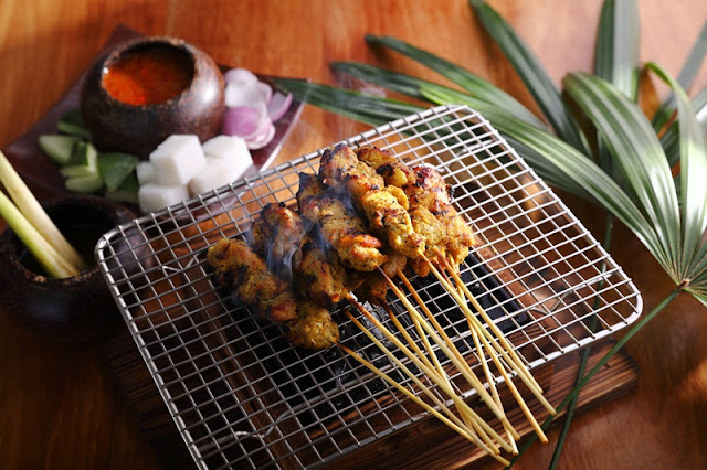 Satay Ayam Enak KL Feast Village Starhill Gallery New Menu 2018