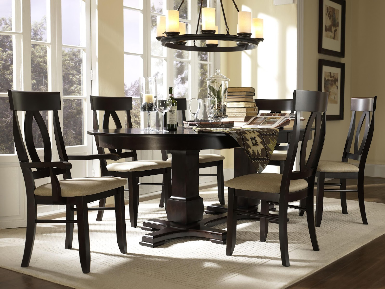 Unusual Dining Sets Canadel Furniture Long Island New York Ny Dining Room