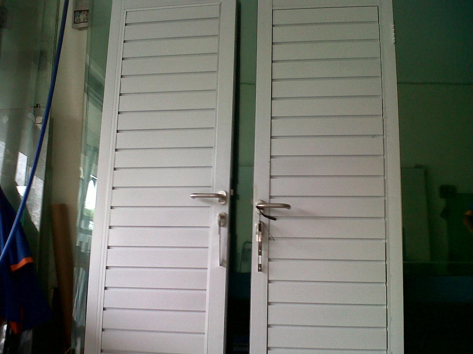 Contoh Pekerjaan Pintu Kaca & Kusen Aluminium