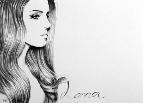 12-Lana-del-Rey-Ileana-Hunter-Celebrity-Black-and-White-Stylish-Drawing-Portraits-www-designstack-co