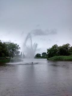 Fontaine du parc Jarry