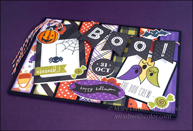 Xyron with Photo Play Paper Halloween Card
