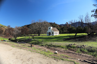 Another photo of the Westworld town church.