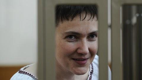 Szabadlábra helyezték a terrorváddal őrizetbe vett Szavcsenko ukrán képviselőt
