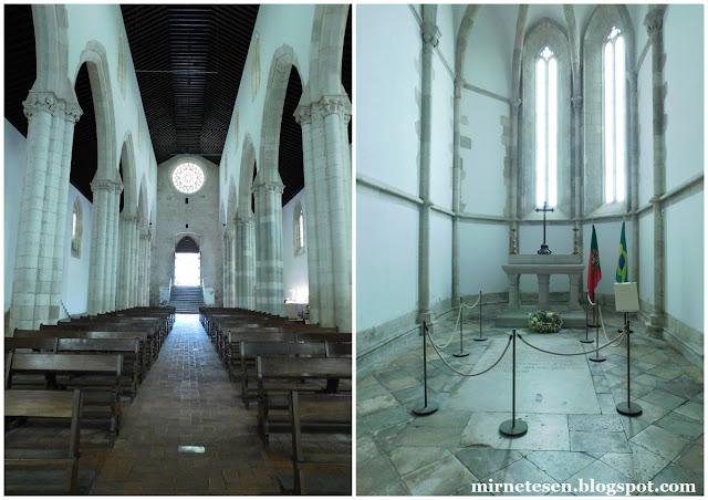 Сантарен - Церковь Граса, где похоронен Педру Алварес Кабрал