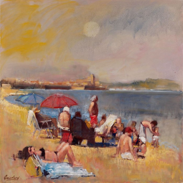 Британский художник. David Gainford