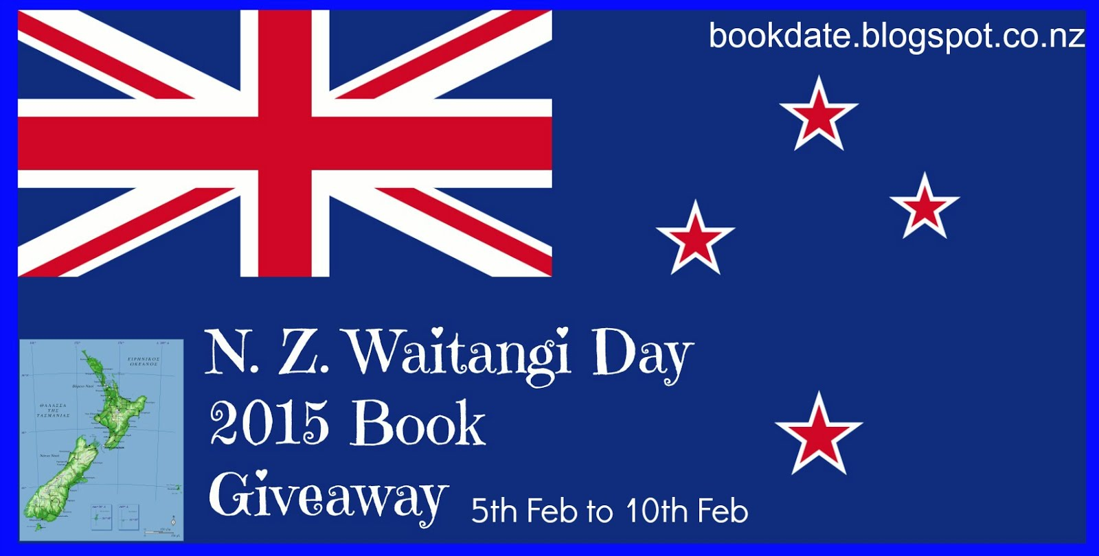 NZ Banner book giveaway