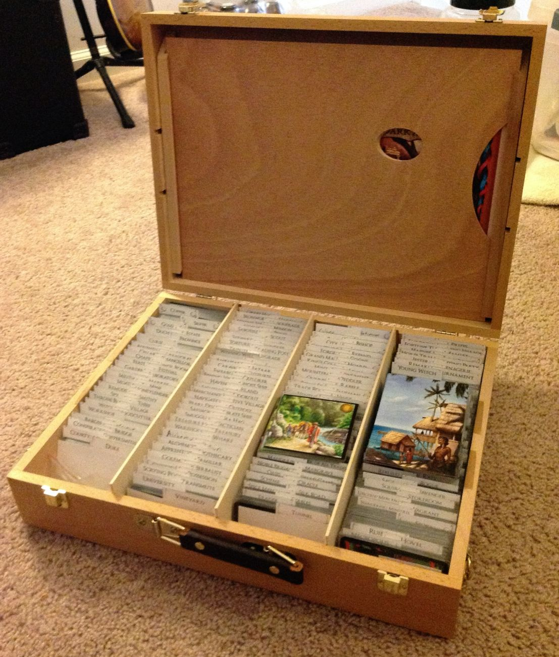 The Critical Boardgamer: The Many Ways to Store Dominion