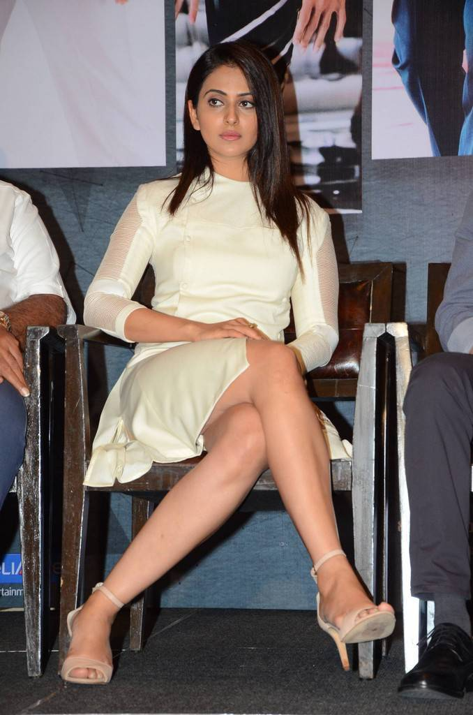 Rakul Preet Singh At Spyder Telugu Movie Press Meet Gallery