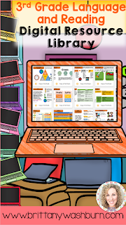 3rd Grade Reading and Language Digital Resource Library