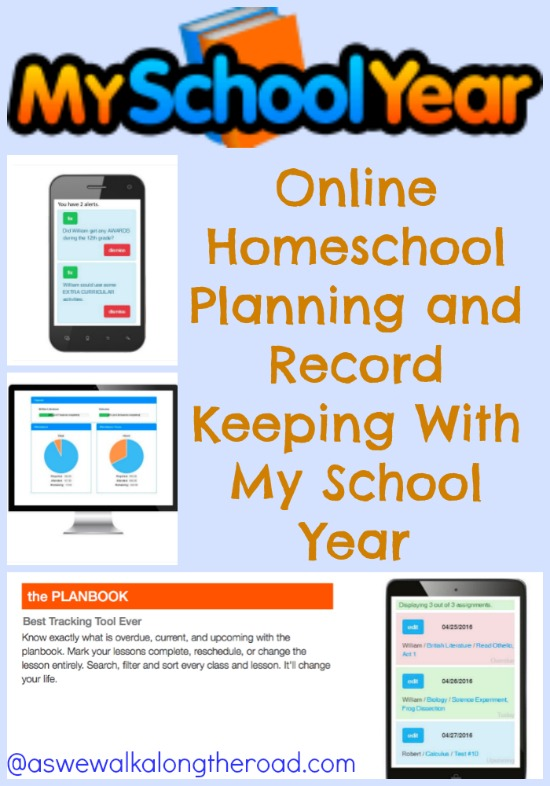 Online homeschool record keeping