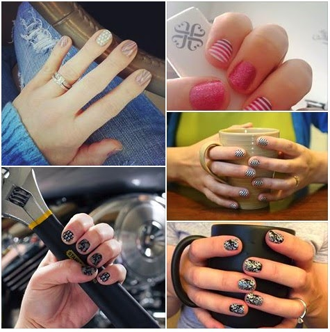 Image: Jamberry Nail Wraps | Nail Art, Gluten Free, Latex Free, Formaldahyde Free | No Chipping, Non Toxic, No Dry Time | Can be used on artificial Nails, safe for little kids | Chemical Free