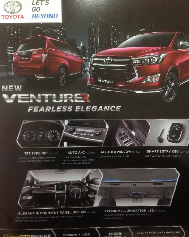 Kelebihan Toyota Kijang Innova Venturer Harga