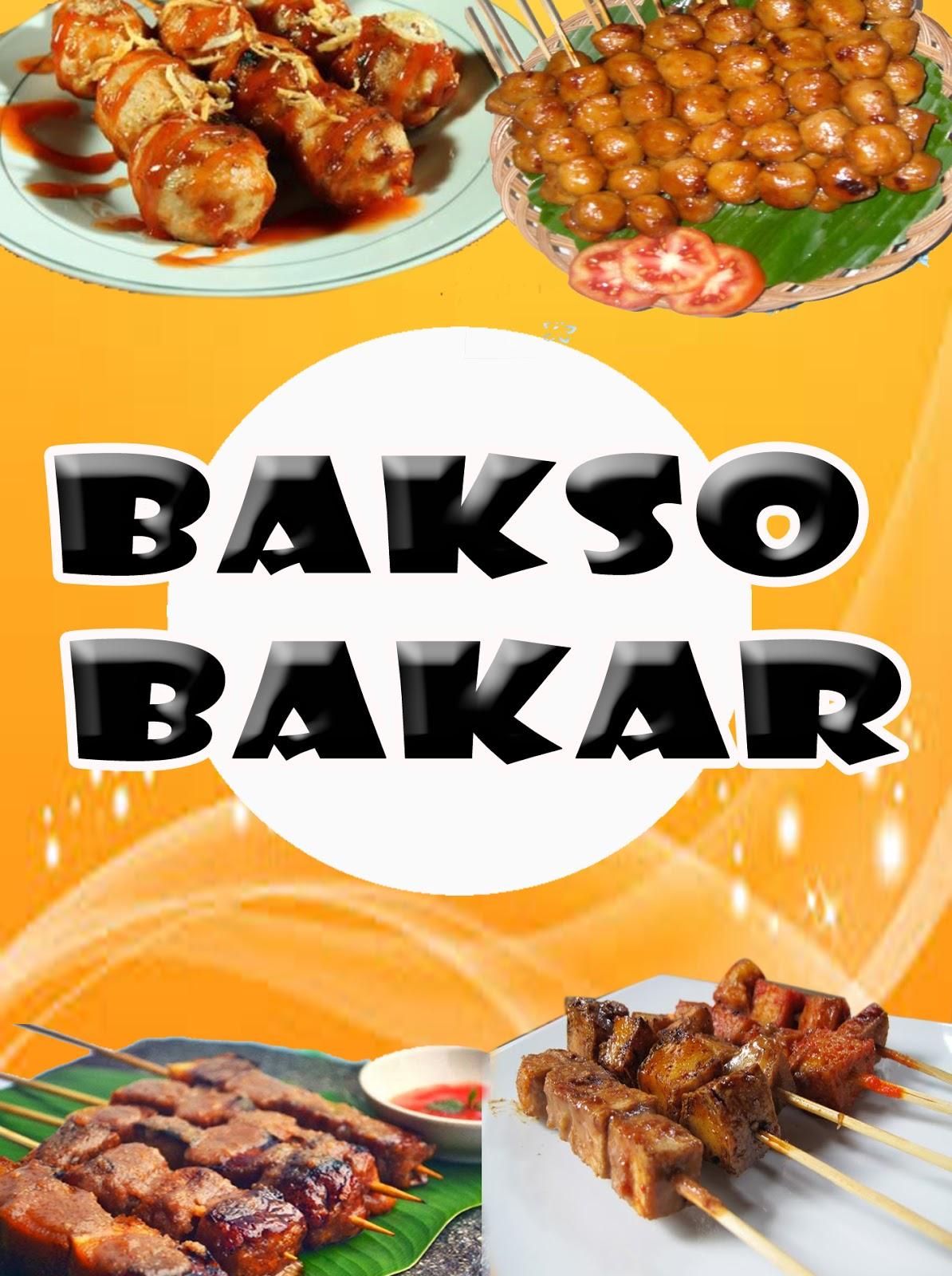 Banner Bakso Bakar - gambar spanduk