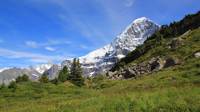 Wallpaper: Nature - Mountain - The Eiger