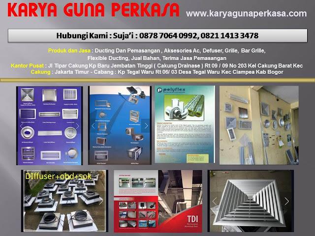 KARYA GUNA PERKASA - JAKARTA DAN BOGOr.  Produksi Ducting  AC,   Aksesoris AC,   Defuser, Grille