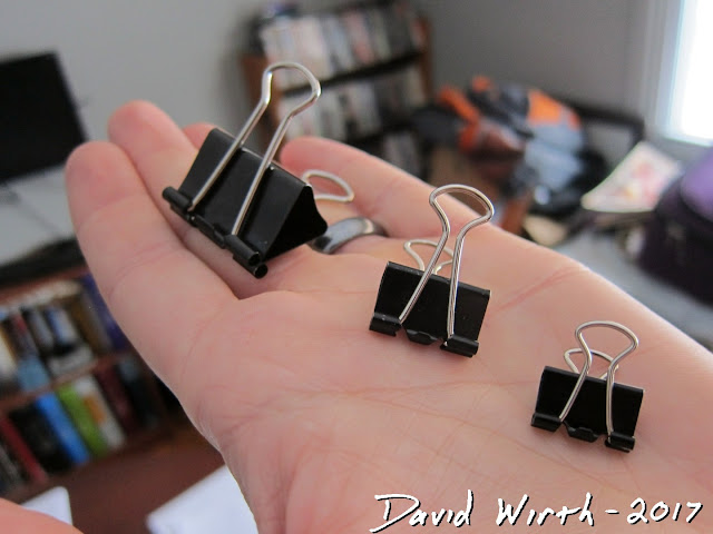 binder clip sizes