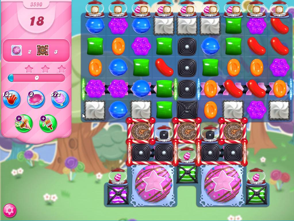 Candy Crush Saga level 3590
