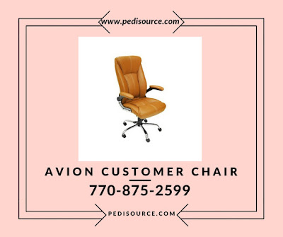 Avion Customer Chair - www.pedisource.com
