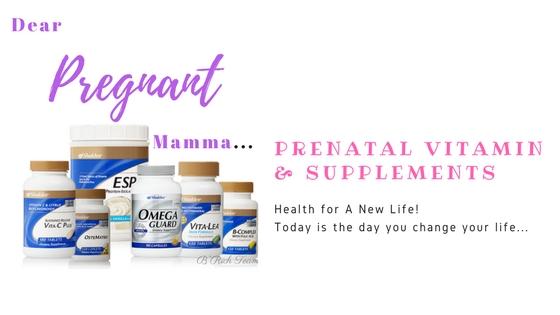 Prenatal Set Shaklee, Kehamilan, Mengandung, Set Hamil,