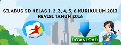 Silabus SD Kelas 2 Kurikulum 2013 Revisi 2016